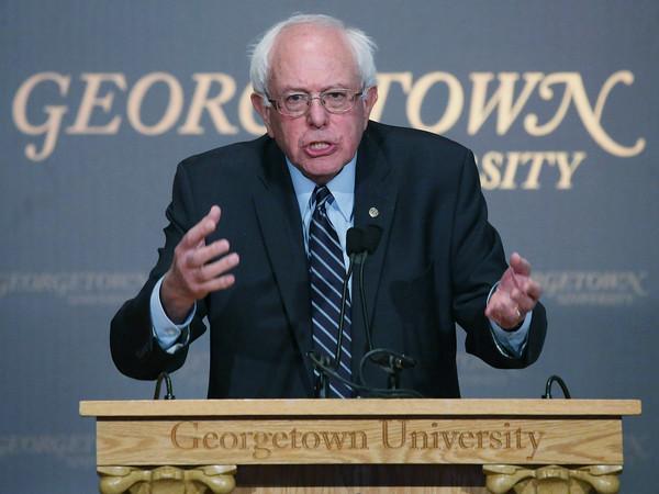 Bernie Sanders Georgetown Speech