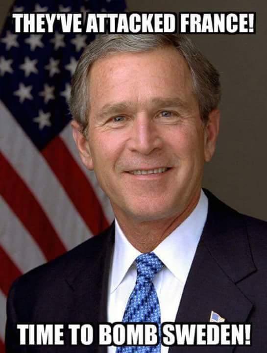 Bush Bomb Sweden