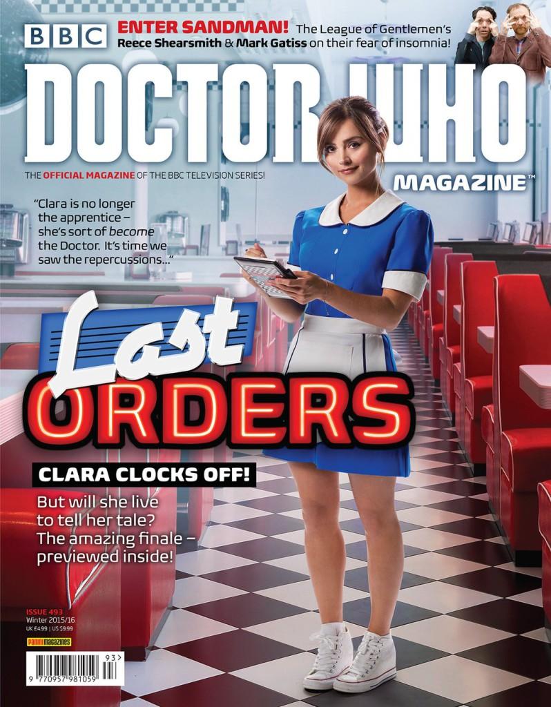 Doctor Who Magazine Clara