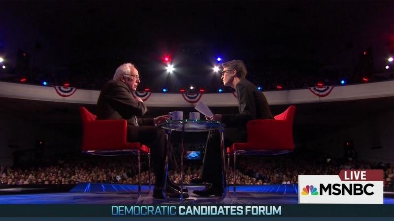 MSNBC Democratic Forum