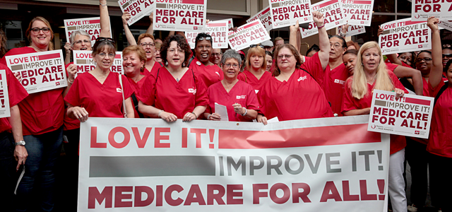 National Nurses Union Medicare For All