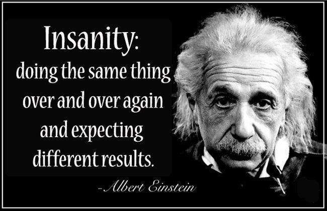 Einstein Insanity