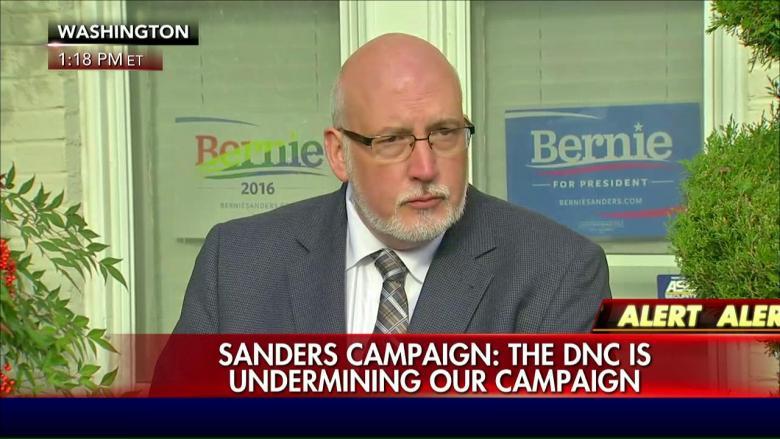 Sanders Sues DNC