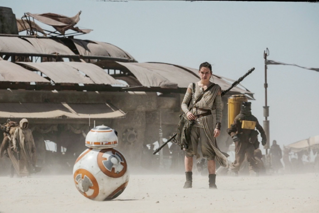 Star Wars Force Awkens Rey BB-8