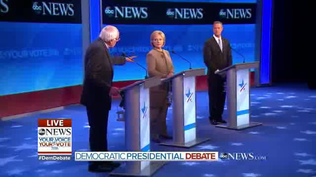 Third Democratic Debate ABC News