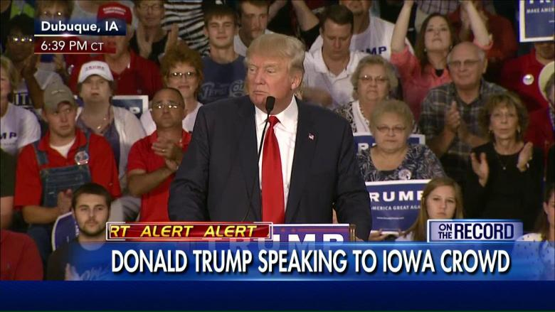 Trump Iowa Screen Grab