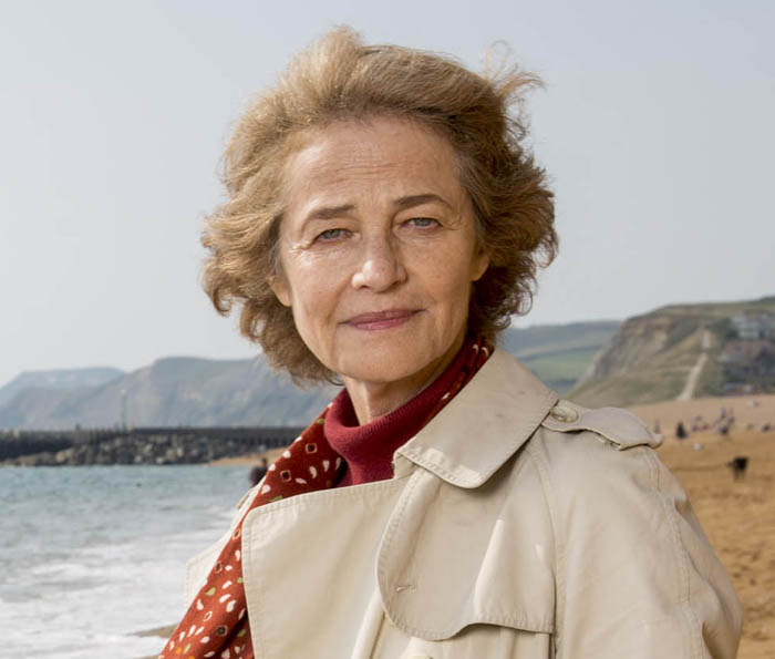 KUDOS FILM AND TELEVISION PRESENTS BROADCHURCH SERIES 2 Images are under strict Embargo not to be used before the 18th December. PICTURED : CHARLOTTE RAMPLING as Jocelyn Knight. Copyright ITV/Kudos.