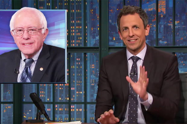 Seth Meyer on Bernie Sanders Surge