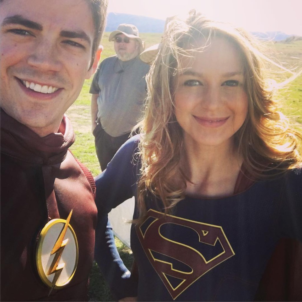 Supergirl Flash Instragram