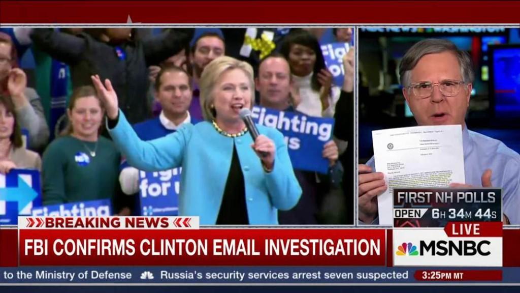 Clilnton FBI Investigation