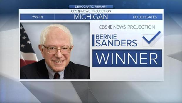Sanders Wins Michigan