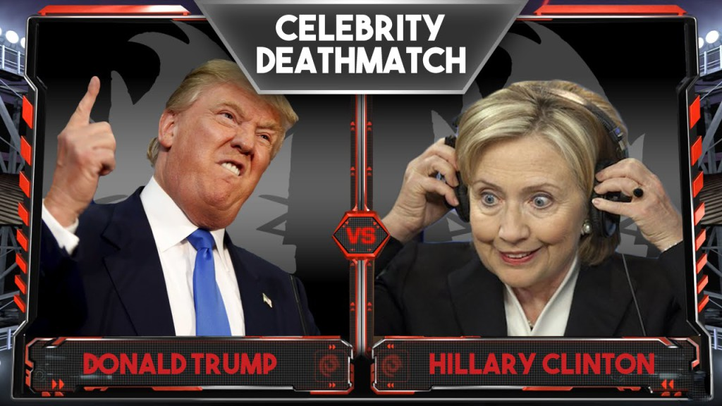 Trump Clinton Celebrity Death Match