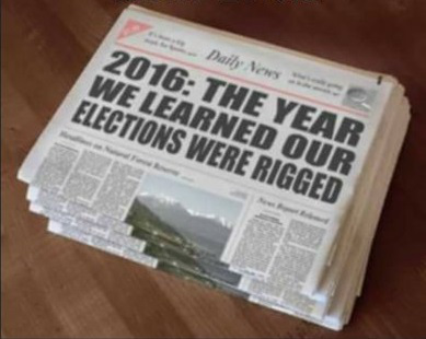 Elections rigged