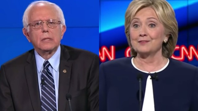 Sanders Clinton CNN