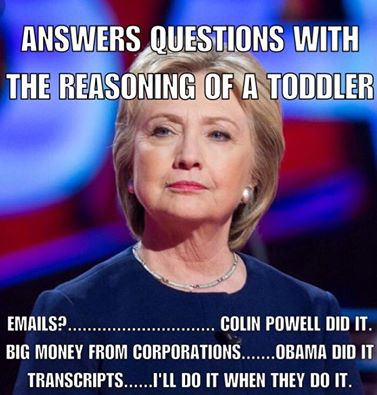 Clinton Toddler Answers
