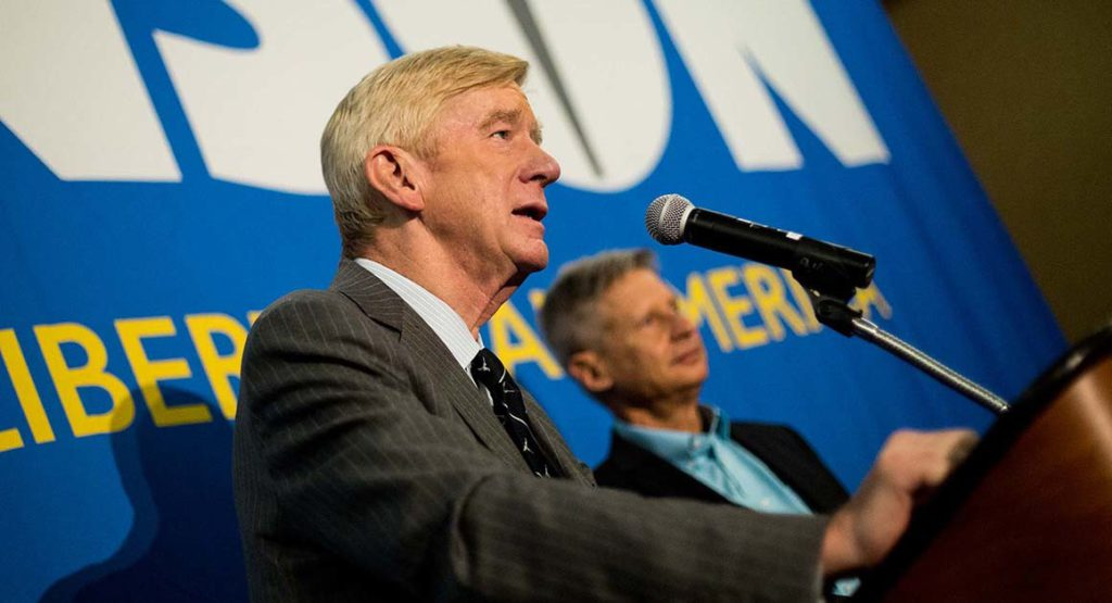 Johnson Weld Libertarian Ticket