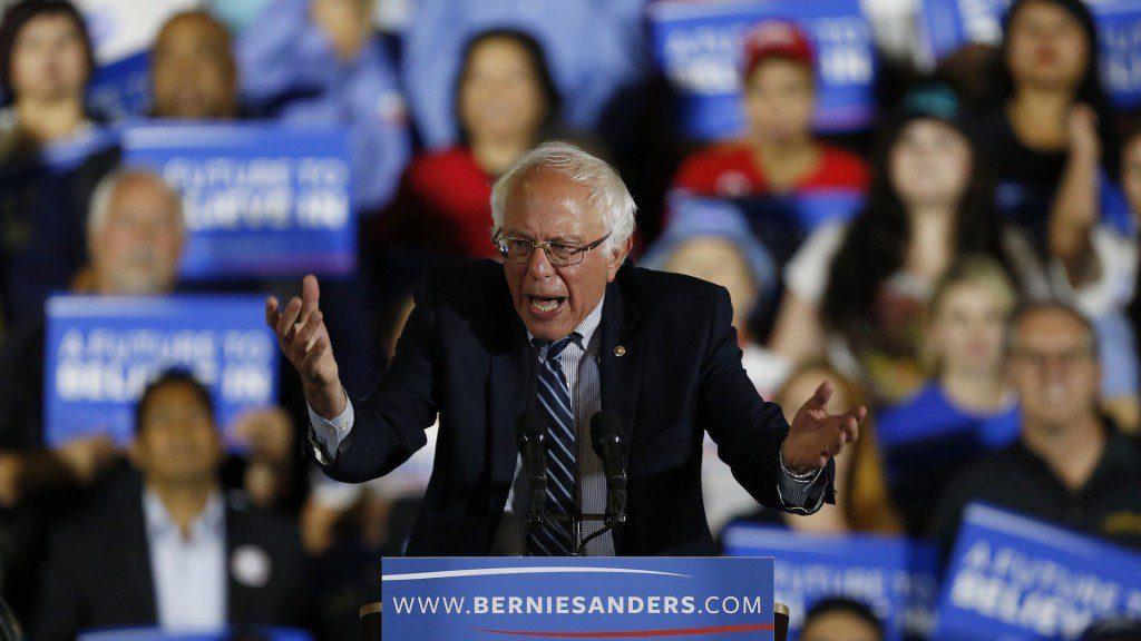 Sanders Washington Post