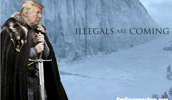 Trump Game of Thrones