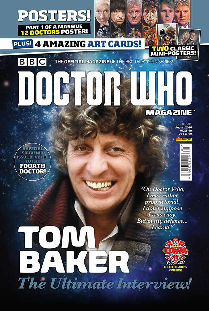 Doctor Who Magazine Tom Baker