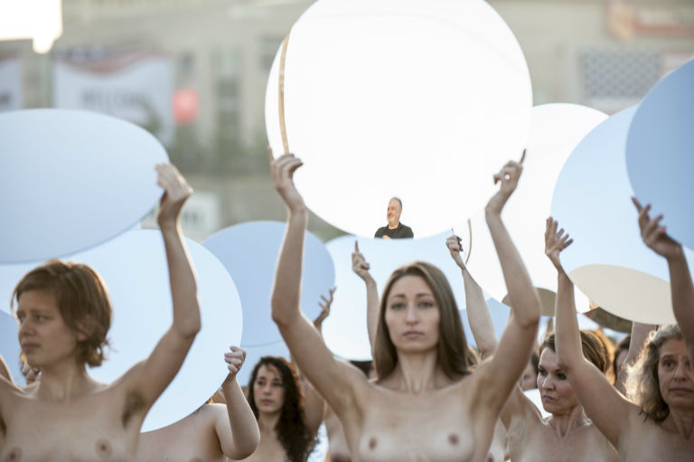 GOP Nude Protest 1