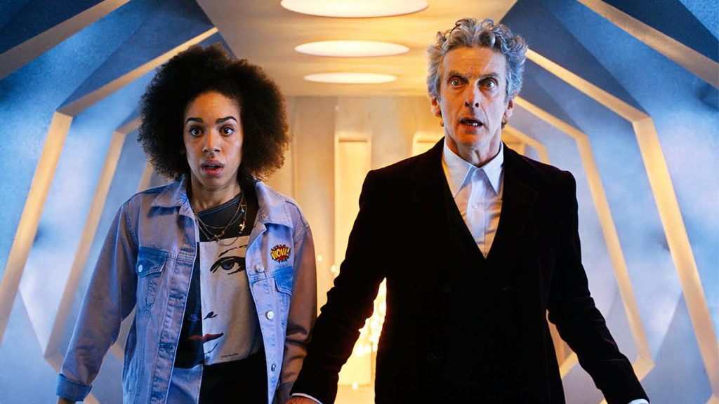 Doctor Who Capaldi and Pearl Mackie
