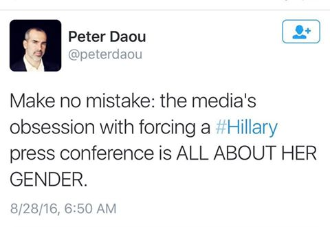 Peter Daou Press Conference