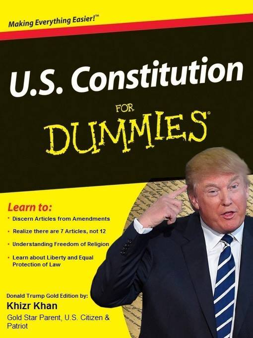 Trump Constitution for Dummies