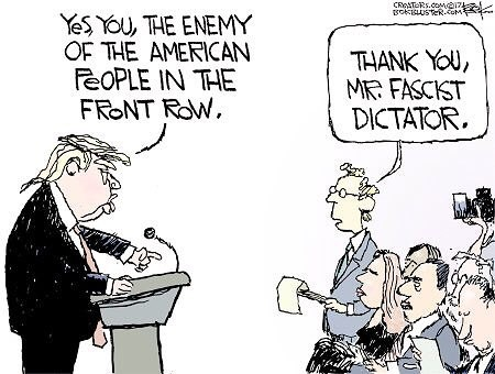 Image result for the press is the enemy, trump