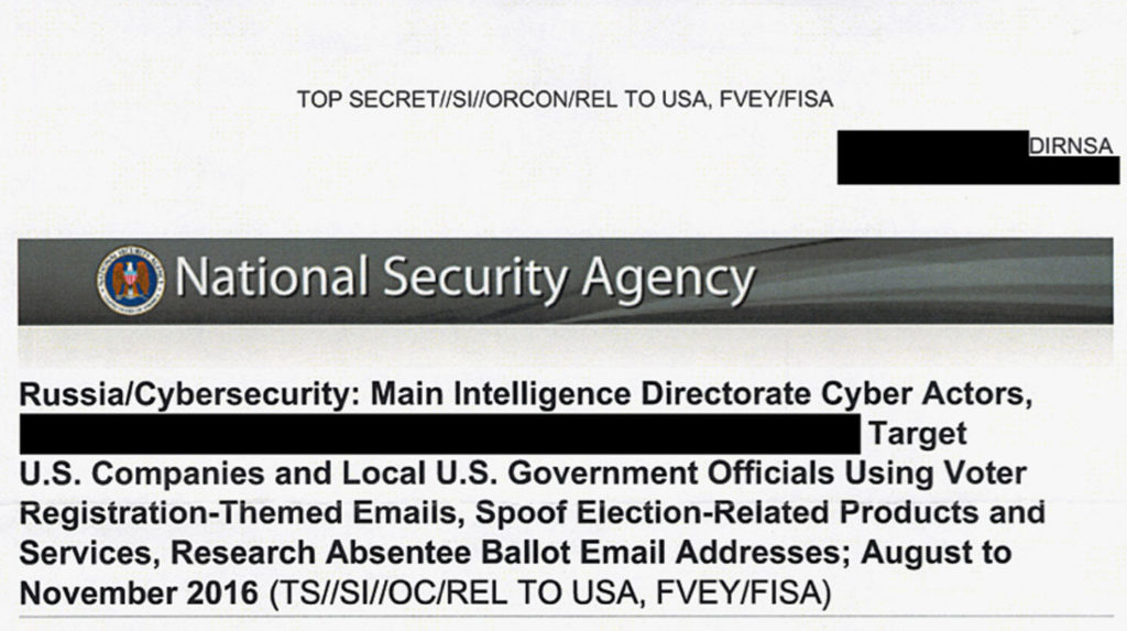 Image result for nsa document leak obama liar russian hackers